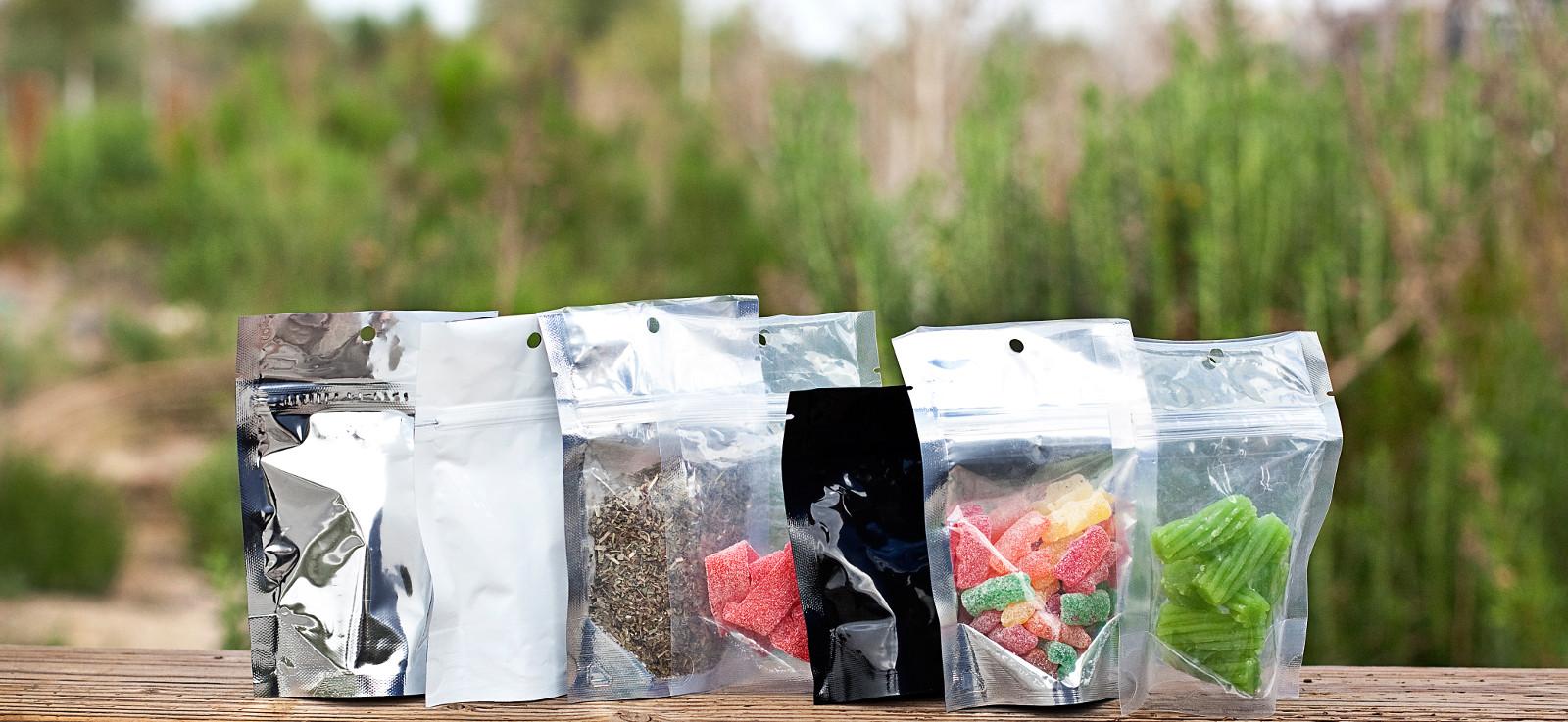 {Marijuana Packaging Bags}