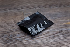 Small black smell proof bag