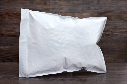 white zipper bag