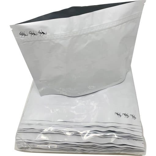 Exit Bags Child Resistant White